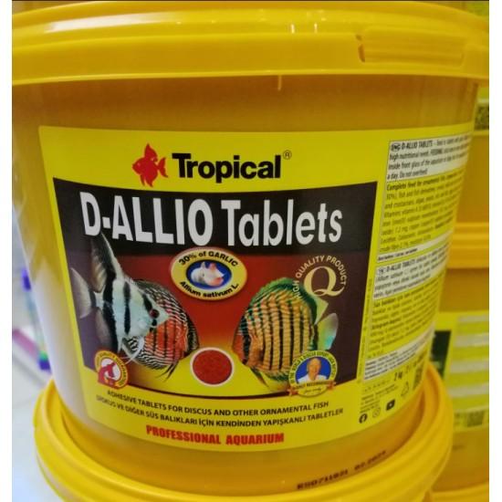Tropical D-Allio Plus Tablet Yem Balık Yemleri