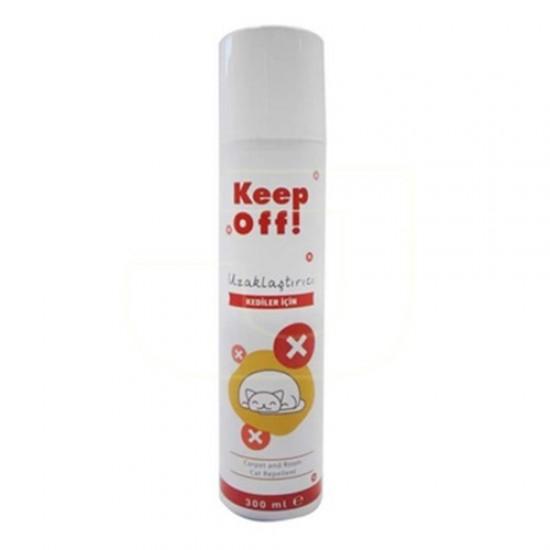 Keep Off İç Mekan Kedi Uzaklaştırıcı Sprey 300 Ml Kedi Ürünleri