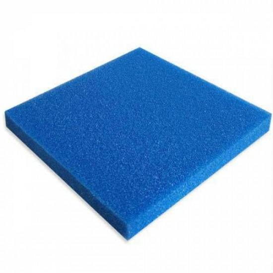 Biyolojik Sünger Mavi Kalın Gözenekli 50x50x5cm Akvaryum Malzemeleri