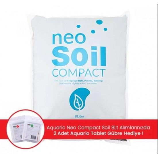 Aquario Neo Compact Plant Soil Powder 8Lt Aktif Toprak Akvaryum Malzemeleri