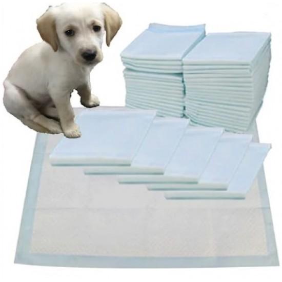 Yavru Köpek Çiş Pedi Yapışkanlı 10 Adet 90x60cm Köpek Ürünleri