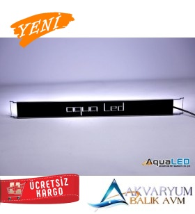 Aqualed Plant Full Spectrum 4 Renk Özel Dizilim 100cm BİTKİLİ - BİTKİSİZ AKVARYUM ARMATÜRÜ