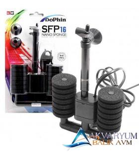 Dophin SFP 16 Nano Sponge Motorlu Pipo Filtre