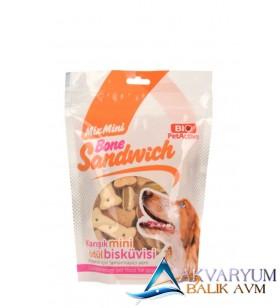 BioPetActive Bone Sandwich Ödül Bisküvisi 200 gr