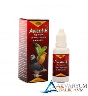 Biyoteknik Avisol B Kompleks Kuşlar İçin Vitamin
