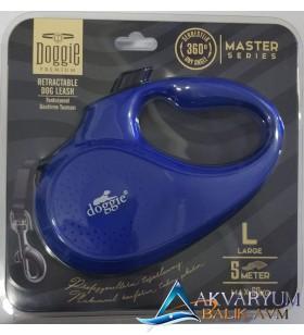 Doggie Premium L 5- Metre 50Kg Flexi Tasma -