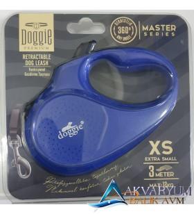 Doggie Premium XS 3 Metre 12Kg Flexi Tasma