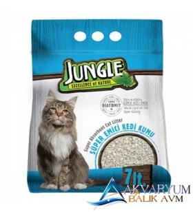 Jungle Diatomit Kedi Kumu 7Lt