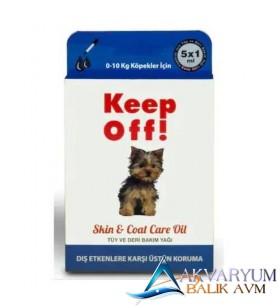 Keep Off 0-10 kg (Küçük Irk) Yavru Köpek Dış Parazit Damlası 5x1 ml