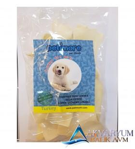 Köpek Çiğneme Kemiği Petimore Sığır Derisi Sütlü Cips 200 Gr