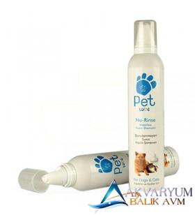 Pet Love Durulanmayan Susuz Kedi ve Köpek Köpük Şampuan 300 ML
