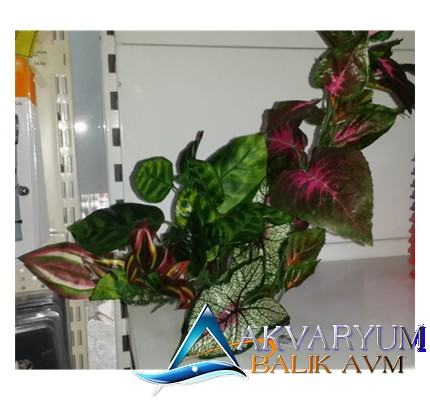 Plastik Akvaryum Bitkisi 35cm '86351'