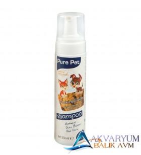Pure Pet Durulanmayan Susuz Köpük Şampuan Kurabiye - Vanilya 250 ml