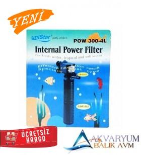 UniStar POW 300-4L Akvaryum İç Filtre 2000 L/H