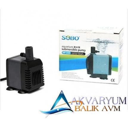 Sobo WP-3400 Akvaryum Kafa Motoru 880Lt/Saat