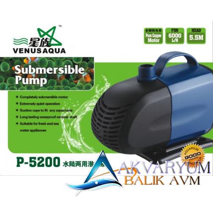 P-5200 Venus Aqua Kafa Motoru 5000lt