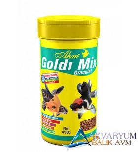 Ahm Goldi Mix Granulat Balık Yemi 250 ml
