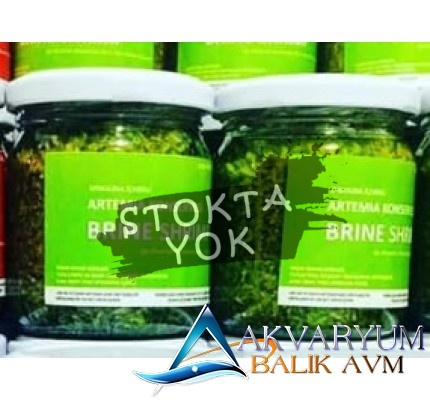 Aquatech Artemia Konservesi Spirulina İçerikli (Hazır Çıkmış ve Erişkin) 100Gr