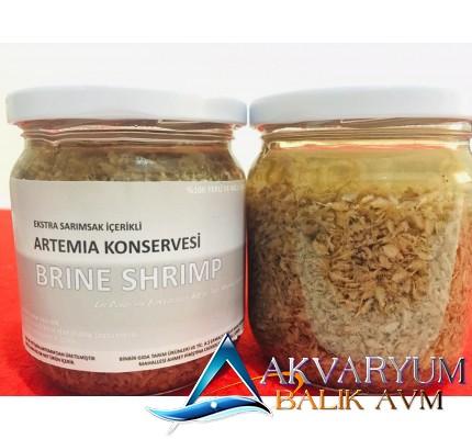 Aquatech Sarımsaklı Artemia Konservesi (Hazır Çıkmış ve Erişkin) 100Gr