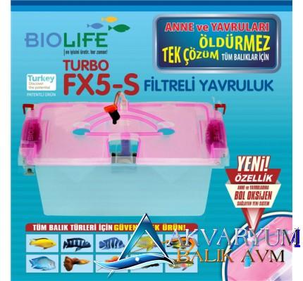 Biolife Turbo FX5-S Yavruluk 8 Vantuzlu Askı Aparatlı