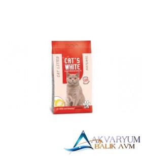 Cat S White Parfümlü Kokulu Bentonit Kedi Kumu 10 kg
