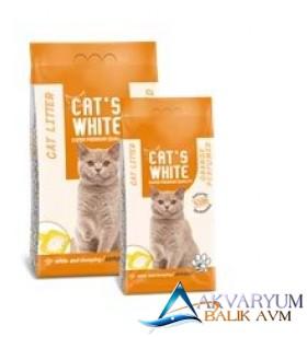 Cat S White Portakal Kokulu Topaklaşan Kedi Kumu 5 kg