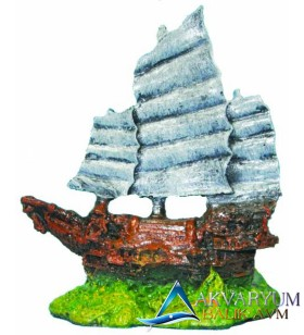 Ti-Sert Minik Yelkenli Gemi D-106
