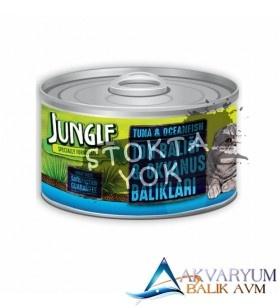 Jungle Ton-Okyanus Balıklı Yaş Ezme Kedi Maması 85 gr