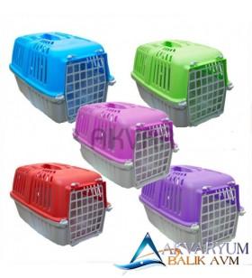 Metal Kapılı Kedi Ve Köpek Taşıma Kabı
