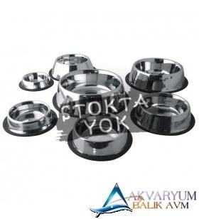 PetStyle Çelik Mama Kabı 17 Cm