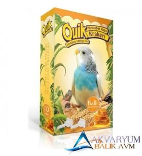 Quik Muhabbet Kuşlari Ballı Kraker 10'Lu