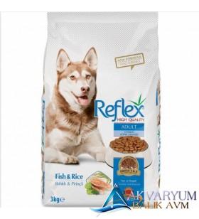 Reflex Balıklı ve Pirinçli Yetişkin Köpek Maması 3 Kg