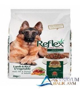 Reflex Kuzu Pirinçli Ve Sebzeli Yetişkin Köpek Mamasi 3 Kg