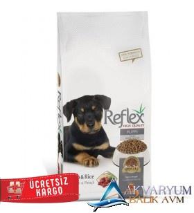 Reflex Puppy Lamp&Rice Kuzu Etli & Pirinçli Yavru Köpek Maması 15 Kg