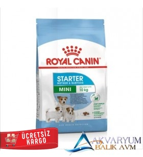 Royal Canin Mini Starter Mother Baby Dog 3 Kg Yavru Köpek Maması
