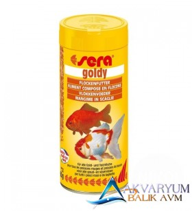 Sera Goldy japon pul yemi