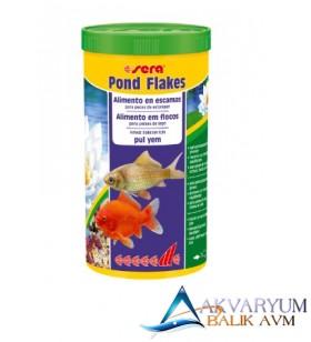 Sera Pond Flakes Havuz ve Japon Balıkları Pul Yem 1L / 180 gr