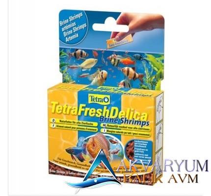 Tetra Fresh Delica Brine Shrimps 48gr (Karides)
