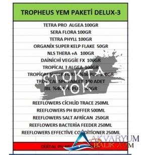 Tropheus Yem Paketi DELUX-3 ÜCRETSİZ KARGO