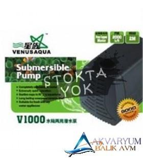 Venusaqua V1000 Sump Motoru 2000L/H 40W