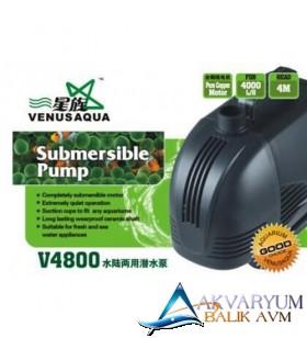 Venusaqua V4800 Sump Motoru 4000L/H 85W