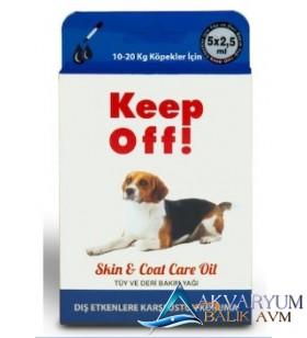 Keep Off Orta Irk Köpek Dış Parazit Bit Pire Ense Damlası 5x2,5ml