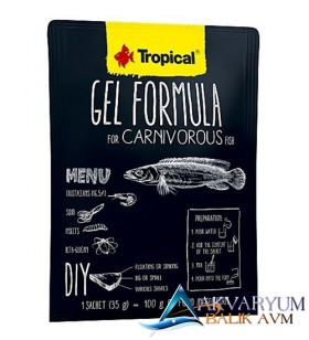 Tropical Gel Formula Carnivorous 35gr
