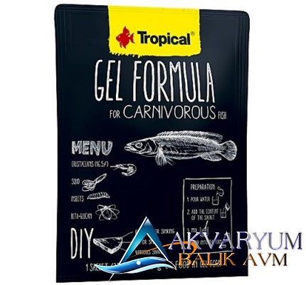 Tropical Gel Formula Carnivorous 35gr