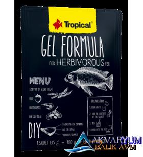 Tropical Gel Formula Herbivorous 35gr Otçul