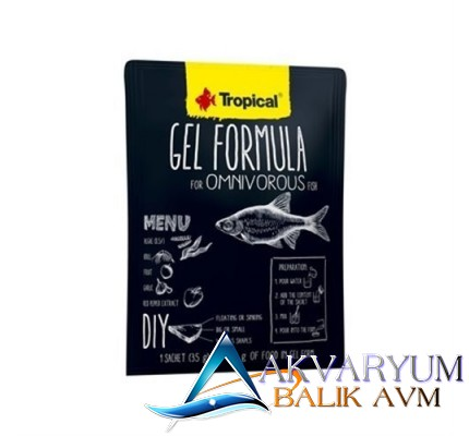 Tropical Gel Formula Omnivorous 35gr Etçil