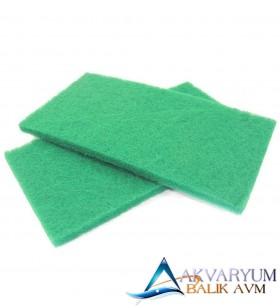 XY-1827 Biyolojik Filtre Süngeri Yeşil 40x21x2 cm 2li Paket