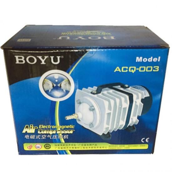BOYU ACQ-003 HAVA KOMPRESÖRÜ 50L/min 35W Akvaryum Malzemeleri