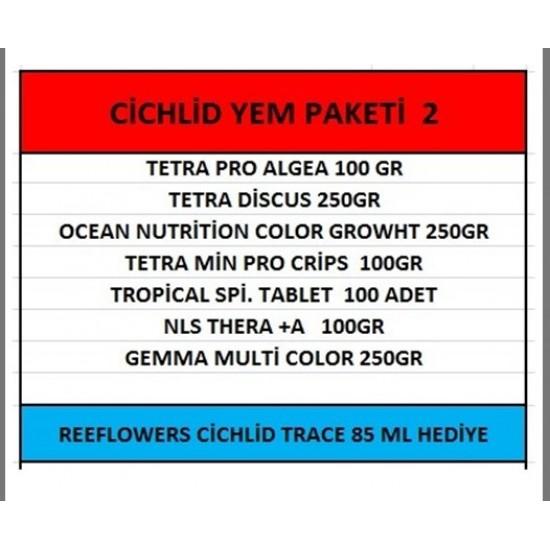 Cichlid Yem Paketi-2 ÜCRETSİZ KARGO Yem Paketleri