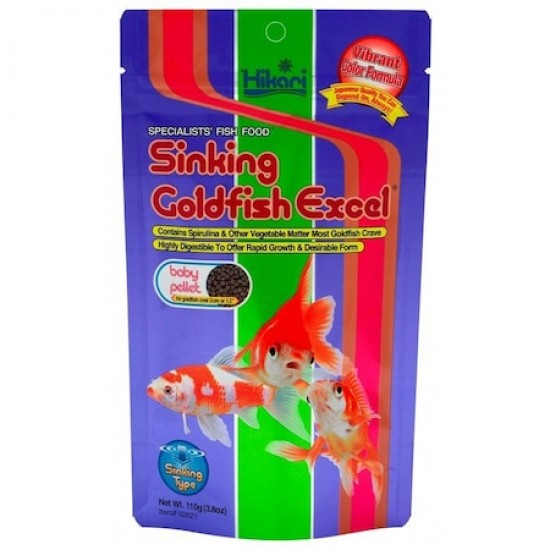 Hikari Sinking Goldfish Excel 110 gr.